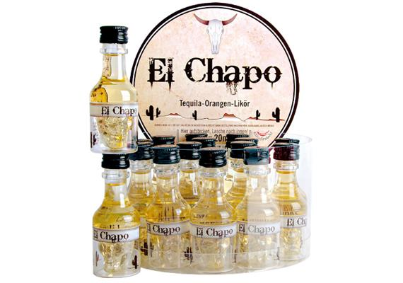 El Chapo 25%Vol. 16x20ml