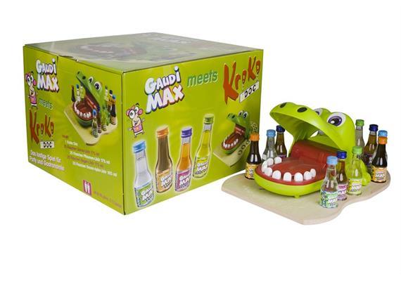 Gaudi Max meets Kroko Doc 16/17% Vol. 100x20ml