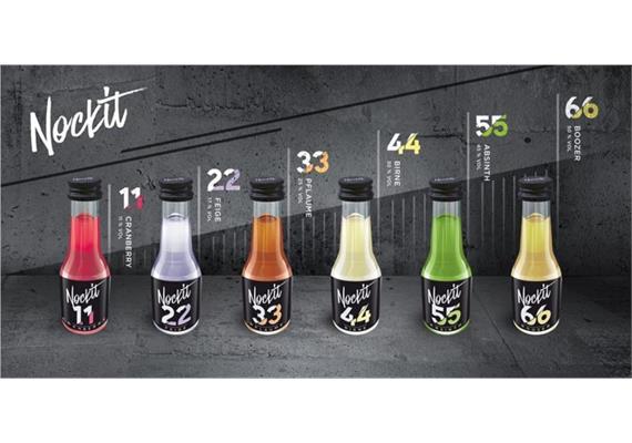 Nockit Mix 11/17/25/30/45/50% Vol. 24x20ml