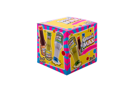 Gaudi Max cube à soirée 9x20ml, 16/17 %