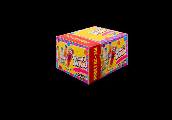 Gaudi Max événement-mix 16/17% Vol. 20x30ml