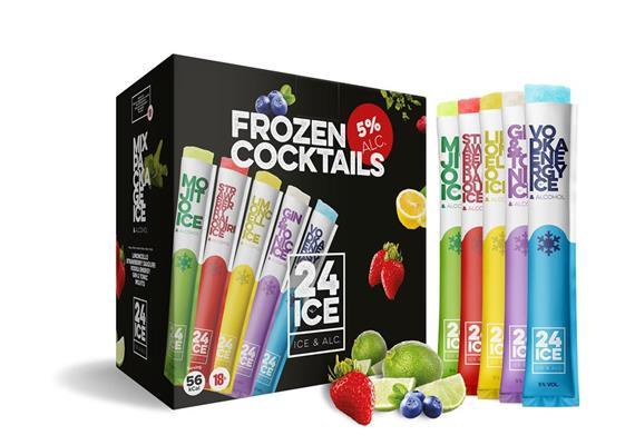 Ice24 Mix 5% Vol. 50x65ml