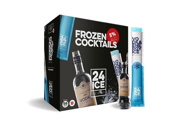 Ice 24 Vodka Energy 5% Vol. 50x65ml